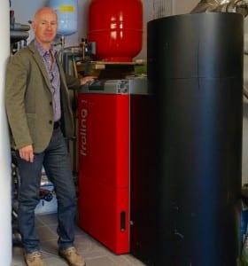 Koru biomass boiler