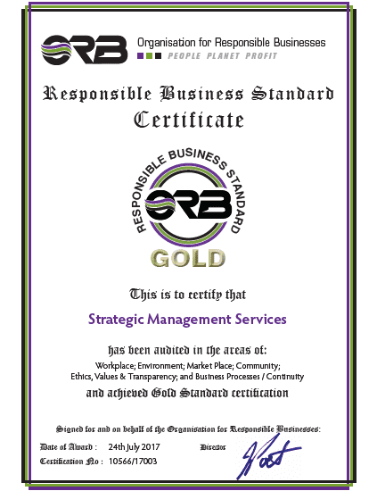 2014 ORB SMP certificate